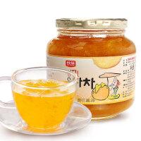 韩国进口韩福10.2原味蜂蜜柚子茶1000g