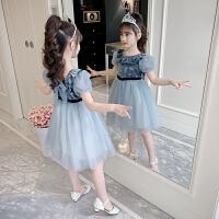 女童连衣裙夏装儿童装女孩夏季公主裙子