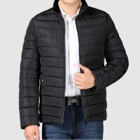 新款加厚爸爸装冬装外套中老年人棉衣中年男士棉袄父装保暖