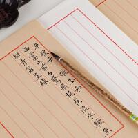 熟宣仿古宣纸书法专用纸竖行中国风宣纸信笺纸书法作品纸毛笔钢笔硬笔书法纸初学者信纸软笔小楷用纸