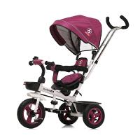 儿童宝宝自行车1-3三轮车小孩童车手推车2-6岁脚踏车
