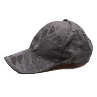 AOTU 户外运动迷彩战术蟒纹棒球帽 真人CS军迷装备 遮阳帽子 棉质透气 均码