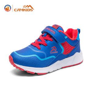 CAMKIDS儿童休闲鞋 男童2017秋季新款女童运动鞋中大童耐磨