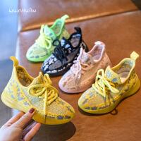 儿童鞋运动鞋女童飞织网鞋男童休闲鞋子网面透气鞋