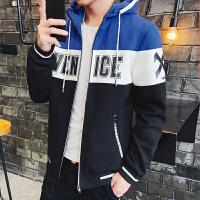 带帽卫衣男士秋季运动外套连帽韩版潮流青少年学生长袖外衣服男装