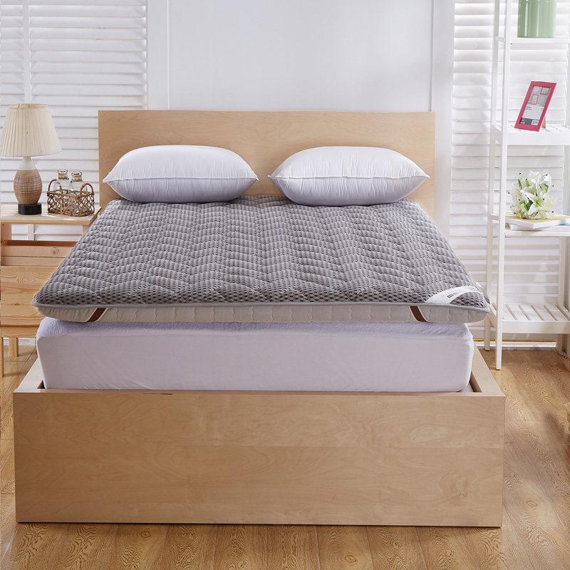 床垫 1.8m床加厚榻榻米床褥子1.5m床经济型1.2米学生0.9m海绵垫被   防潮透气型