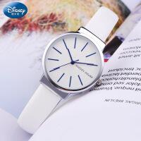 迪士尼中学生手表女学生女款防水少女韩版简约时尚潮流女士手表