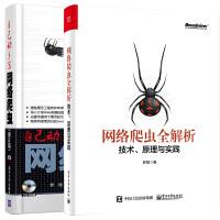 【共2册】自己动手写网络爬虫(修订版)(配光盘)+网络爬虫全解析――技术、原理与实践