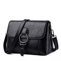 女士手提包女包2018新款百搭韩版单肩斜挎包软皮小包包中年妈妈包