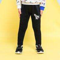 安踏(ANTA)官方旗舰店儿童男童装运动裤子小童休闲裤针织长裤3~6岁A37919741