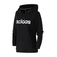 adidas阿迪达斯NEO女装2019新款休闲套头衫连帽卫衣运动服DW7955