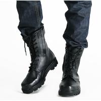 春秋冬季真皮作战靴户外靴军鞋登山靴军靴男特种兵陆战术靴沙漠靴