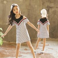 女童夏装连衣裙2018新款韩版儿童公主裙洋气女孩衣服童装裙子潮