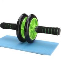 健腹轮巨轮 腹肌轮静音 腹部健身器材家用滚轮健腹器双轮 带刹车款 健腹轮