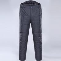 中老年羽绒裤男士外穿加厚加肥高腰保暖大码保暖棉裤