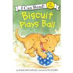 Biscuit Plays Ball小饼干玩球(I Can Read,My Fist Level)ISBN978006