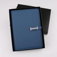 电源U盘记事本 高端礼品套装商务活页日记本 软皮办公记录会议本 创意充电宝笔记本a5文具本子定制可印