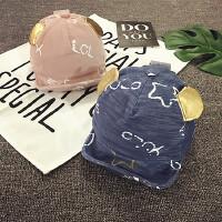 儿童鸭舌帽夏天遮阳帽春秋棒球帽薄款宝宝帽子男女童小孩帽1-2岁