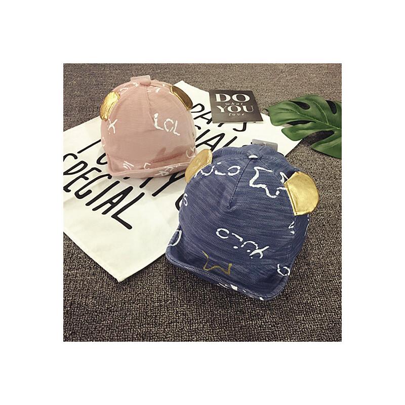 儿童鸭舌帽夏天遮阳帽春秋棒球帽薄款宝宝帽子男女童小孩帽1-2岁 发货周期:一般在付款后2-90天左右发货,具体发货时间请以与客服协商的时间为准