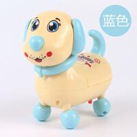 儿童电动小狗狗带灯光音乐 会走路电子狗玩具男女孩宝宝礼物 3节7号电池