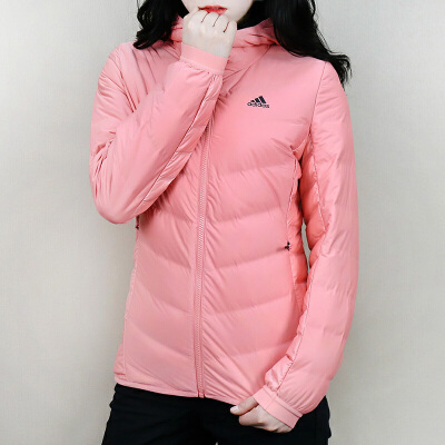 Adidas阿迪达斯 女子 运动羽绒服 冬季保户外暖防风运动羽绒外套 BQ8739