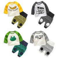 婴儿外套装男童秋冬装保暖1岁儿童女宝宝冬季衣服