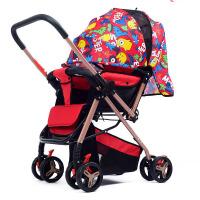 【支持礼品卡】可坐可躺手推车易折叠婴儿推车八轮宝宝推车双向推行婴儿车f2e