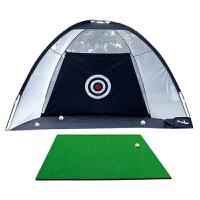 golf高尔夫球杆练习网 高尔夫打击网 高尔夫打击笼 黑色 3米练习网+送打击垫+球杆