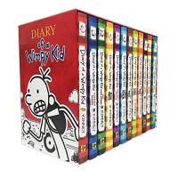 【预订】Diary of a Wimpy Kid Box of Books小屁孩日记套装 1-12册