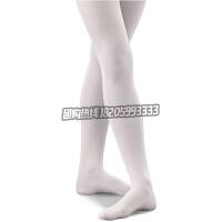 儿童舞蹈袜子春秋款天鹅绒女童芭蕾舞蹈袜白色打底连裤袜练功服袜配件