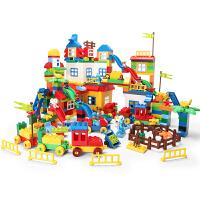 儿童积木玩具塑料拼插3-4-6周岁积木玩具拼装