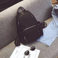 双肩背包女潮时尚2018新款个性韩版百搭牛津帆布妈咪休闲包包女士