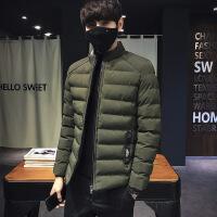 2017新款男士棉衣青少年加厚短款男冬季学生韩版潮流保暖外套