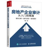 现货 正版 房地产企业审计从入门到精通 模块分解 操作流程 房地产企业审计人员岗位工作指南 房地产企业审计操作实务图书