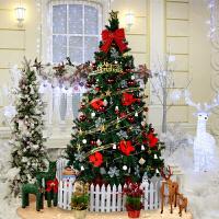 圣诞装饰品3米圣诞树套餐加密含装饰彩灯圣诞节大型金色圣诞树
