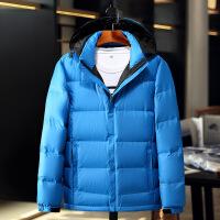 秋冬季新款男装户外男士羽绒服短款加厚韩版修身男式冬装外套