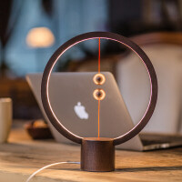 智能平衡磁吸半空开关LED台灯家居生活阅读小夜灯