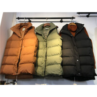 U3马甲女秋冬新款韩版修身显瘦中长款面包服棉衣外套0.55