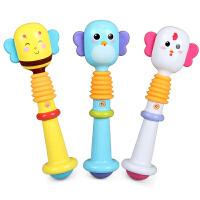 婴儿玩具新生儿宝宝0-1岁BB棒手摇铃婴儿牙咬3-6-12个月益智玩具