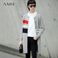 【品牌团 1件7折/2件5折】初上市价269元 Amii毛衣外套