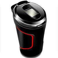 车用烟灰缸带led灯车载创意烟灰缸汽车用品夜光烟灰缸