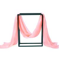 春秋天纯色丝丝巾女女士围巾披肩两用长款秋冬季粉色纱巾春秋天纯色丝丝巾女