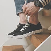 夏季男士帆布鞋男鞋休闲鞋男韩版学生布鞋运动板鞋低帮潮鞋子