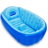 幼婴儿洗浴盆沐浴盆便携充气浴盆大号加厚婴儿洗澡盆婴儿浴盆四季适用