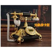 电话机仿古创意个性无线插卡复古电话办公座机固家用电信
