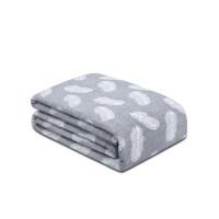 毛巾被棉单人双人夏季薄款毛毯被子纱布午睡毯子夏天空调