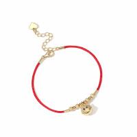 生日礼物925银小红绳铃铛猪手链女情侣闺蜜猪年本命年礼物红色手绳送女友送男友