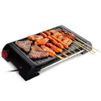 大热量无烟不粘煎烤两用镂空防油家用电烤炉韩式电烤盘多功能烤肉机电烧烤炉