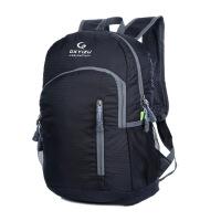 新款男女户外背包超轻皮肤包可折叠双肩包防水登山包情侣旅行便携