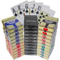德州扑克牌 塑料扑克牌防水磨砂手感好佳大字扑克牌10副装